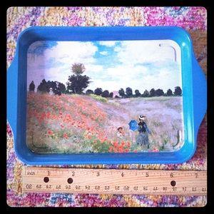 Decorative Monet tray